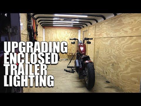 Upgrading The Lighting In The Bike Hauler