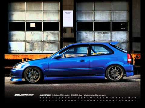 civic ek a tribute to the hatch ! - YouTube