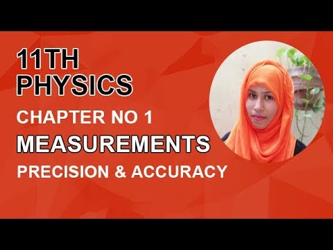 FSC Physics book 1, Ch 1, Precision & Accuracy -Inter Part 1 Physics.