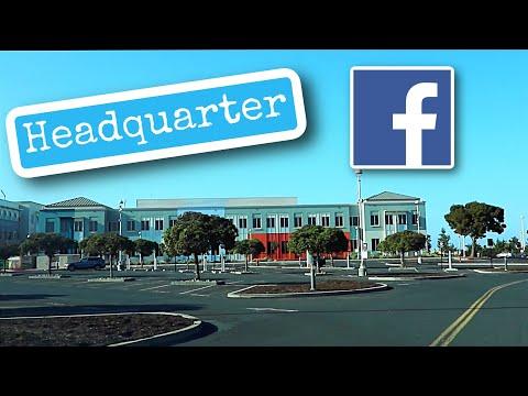 Where people work Facebook Headquarter Menlo Park, California 2021