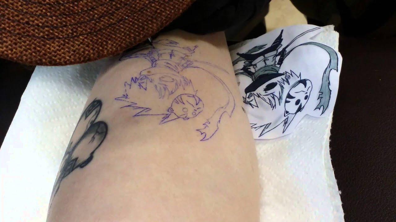 kakashi tattoo youtube