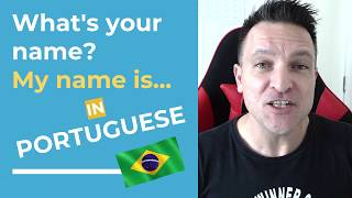 Baixar Learn Brazilian Portuguese Fast! Easy Lesson - How to say your name.