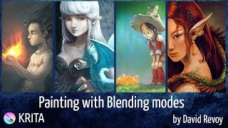 Painting with Blending-modes