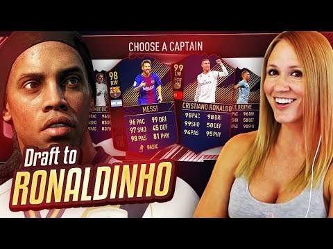 TOTY 99 RONALDO & 98 MESSI IN THE SAME DRAFT! DRAFT TO RONALDINHO #30! FIFA 18