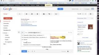 Centro Femme - Reenviar mails de gmail