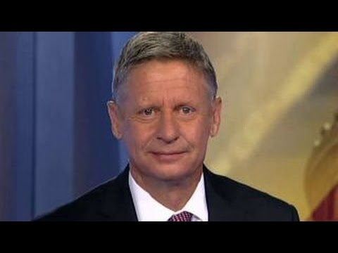 Gary Johnson on push to be included in presidential debates