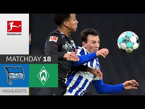 Hertha Berlin - SV Werder Bremen   1-4   Highlights   Matchday 18 – Bundesliga 2020/21