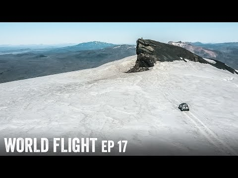STRANDED ON TOP OF ICELAND! - World Flight Episode 17