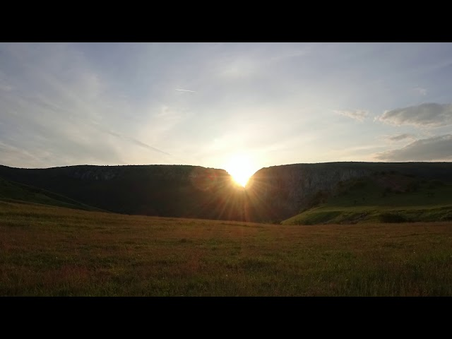 Cheile Turzii (sunset timelapse)