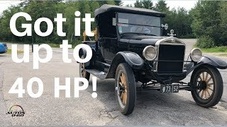 Randal Pitman who has owned the same Model T truck for 70 years