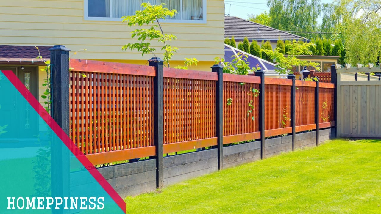 (NEW DESIGN 2017) 25+ Modern Front Yard Fence Ideas