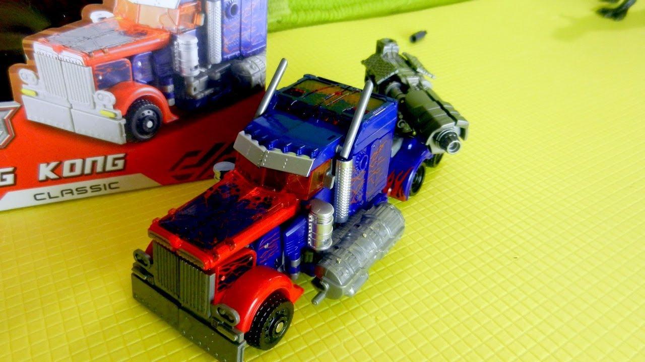 Роботы - Трансформеры. Оптимус Прайм против Робота Орла ...