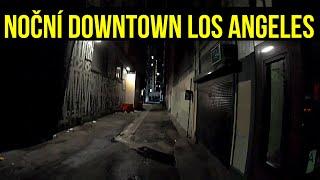 2. Největší Americké město v noci! Downtown LA