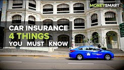 4 Things You Must Know about Car Insurance in Singapore