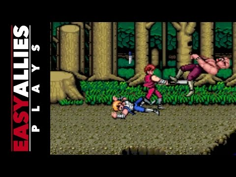 Easy Allies Plays Double Dragon Trilogy - Friendly Fire