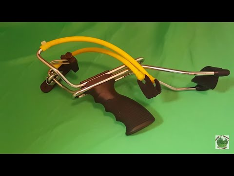 How To MAKE A Slingbow For $1 With Department Store Slingshot