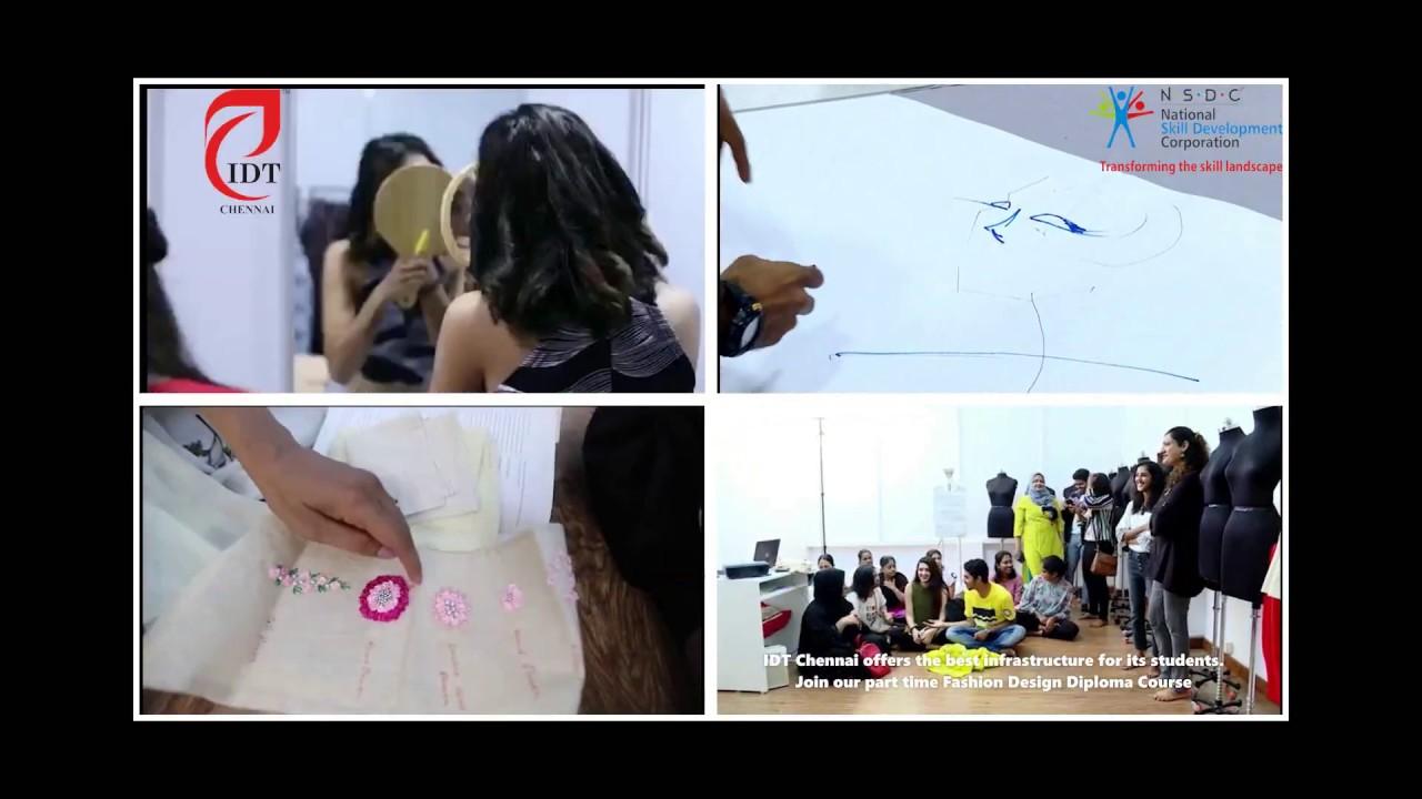 Fashion Design Workshop Fashion Design Diploma Idt Chennai Youtube