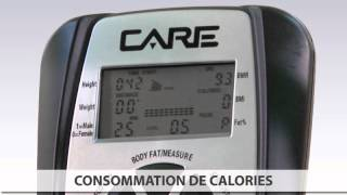 Compteur Du Velo Discovery 3 Par Care Fitness Youtube