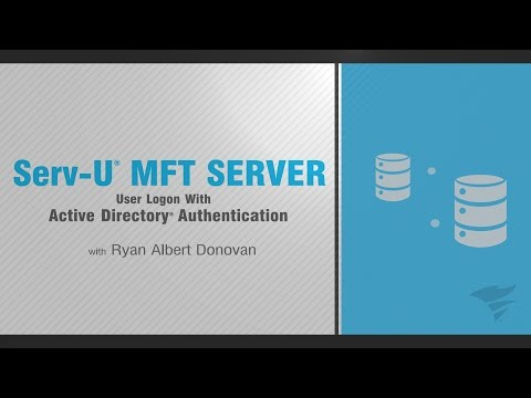 Serv-U MFT Server: User Logon With Active Directory Authentication