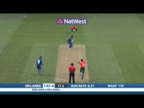 Highlights - England v Sri Lanka, NatWest T20, Sri Lanka innings