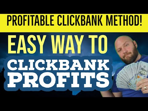Clickbank Affiliate Marketing Without a Website - Insanely Easy Profitable Clickbank Campaigns thumbnail