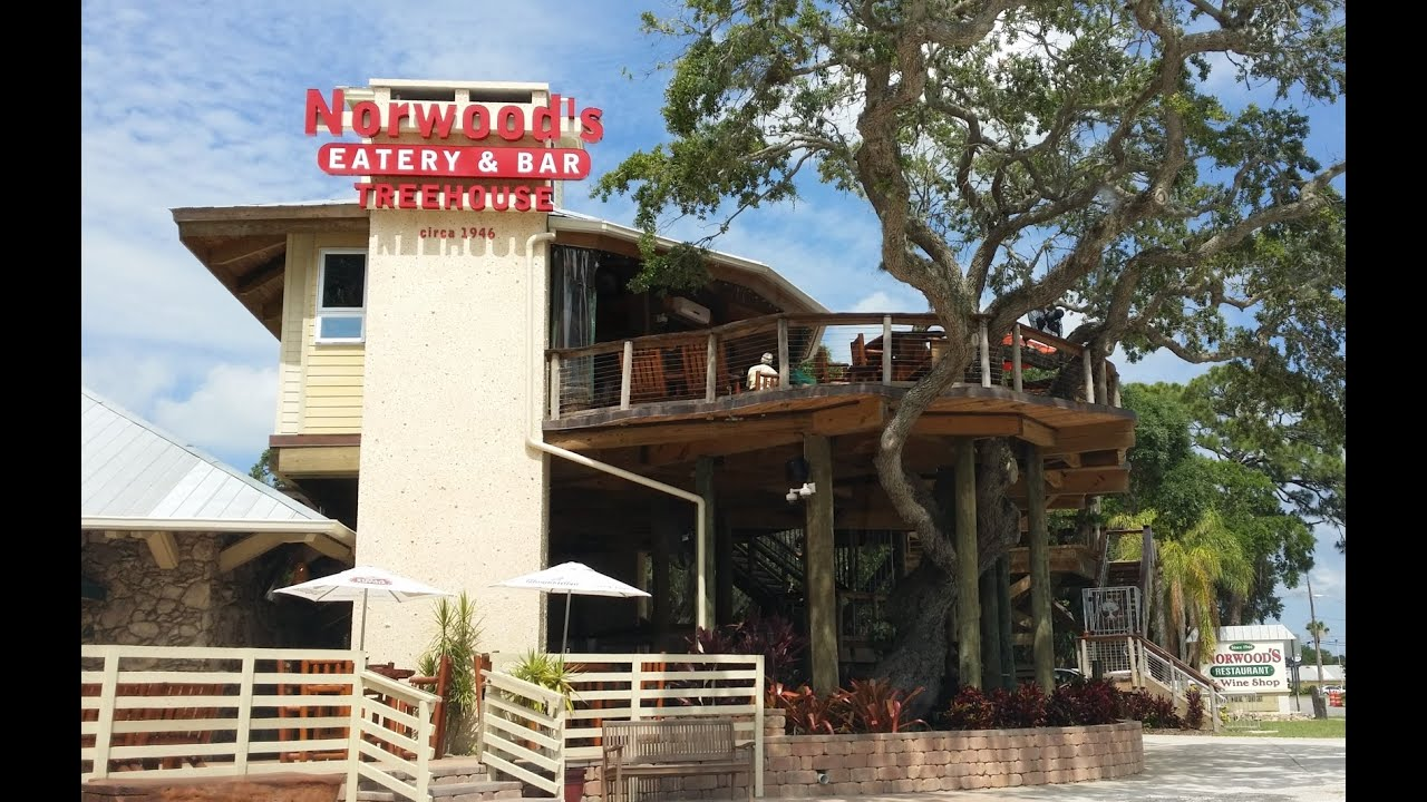 First Visit To Norwood S Eatery Treehouse Bar New Smyrna Beach Fl 6 11 16