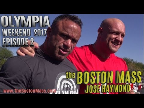 JOSE RAYMOND   Ep. 2 2017 OLYMPIA WEEKEND BEHIND THE SCENES   POSING   SHOPPING   JUMPER