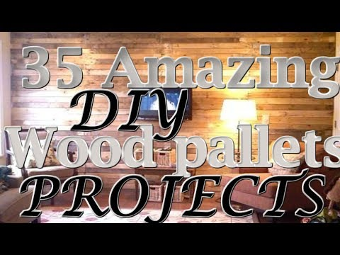 35 Amazing DIY Wood pallets projects