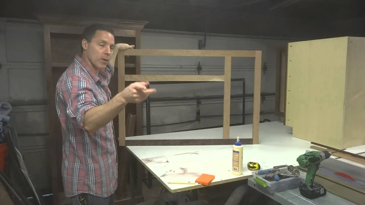 Kitchen Cabinets: Sink Base Build   YouTube