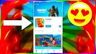 Comment DOWNLOAD Fortnite sur PHONE! (TÉLÉCHARGER LE LIEN DANS LA DESCRIPTION)