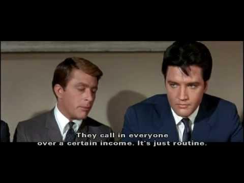 "Elvis Presley - Scene from ""Speedway"" (MGM 1968)"