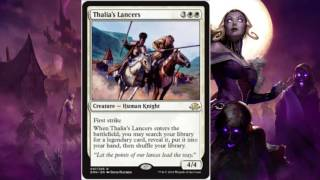 Magic The Gathering - White/Green Humans And Angels(Shadows Over Innistrad/Eldritch Moon)