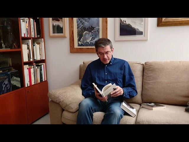 """Giuseppe Mendicino legge… Mario Rigoni Stern: """"Lettera a Nuto Revelli"""""""