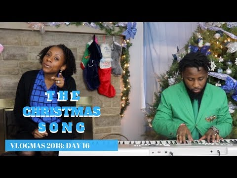 MOM OF 5 SINGS SO HEAVENLY   THE CHRISTMAS SONG   VLOGMAS 2018 DAY 16