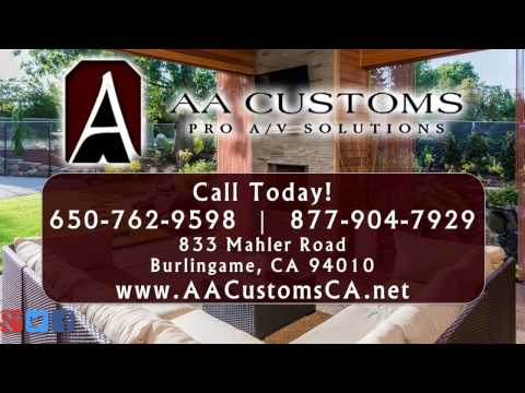 AA Customs | Burlingame CA Home Theater Systems