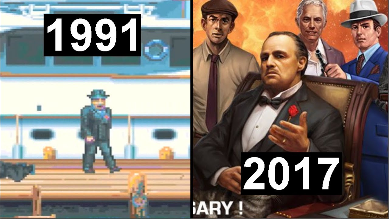 Download Evolution of The Godfather games (1991-2017)