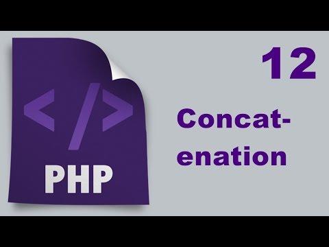 Php Tutorials In Urdu - 12 - Concatenation