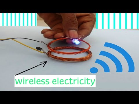 How To Make Wireless Electricity Transfer   DIY