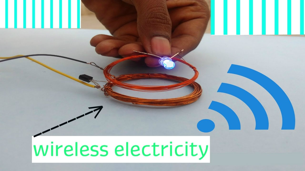 How To Make Wireless Electricity Transfer | DIY - YouTube