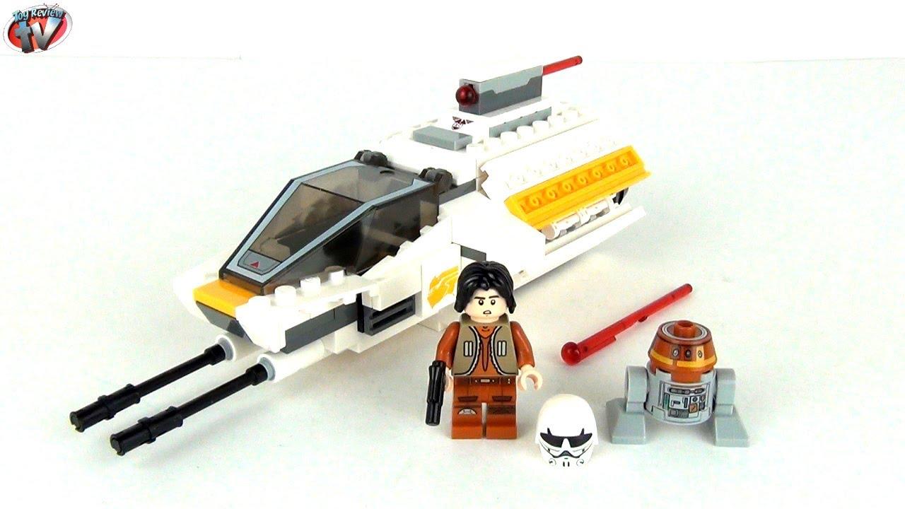 Helmet /& Blaster LEGO® brick STAR WARS™ REBELS 75048 EZRA BRIDGER Minifigure