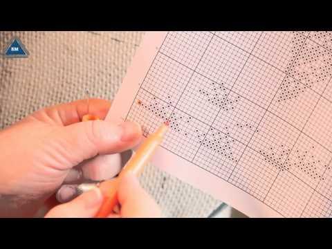 Как начать вышивать по схеме - как читать схемы