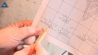 видео Ткань с нанесенным рисунком для вышивания рушников нитками