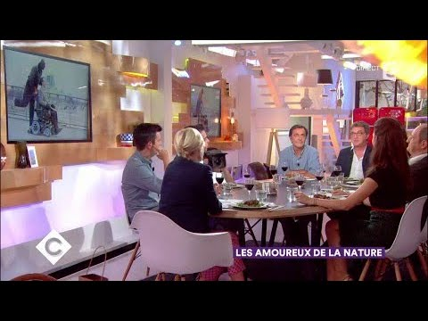 François Cluzet, Nicolas Vanier : les amoureux de la nature  C à Vous  27092017