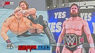 WWE 2K19: Daniel Bryan Survivor Series 2018 Attire & Updated Blue Trons ft. Brock Lesnar (PC Mods)