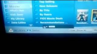 Fios on demand music choice