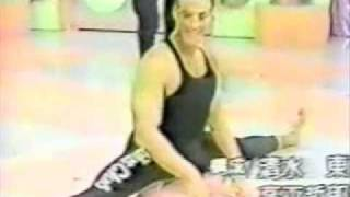 awesome split from jean claude van damme young cyborg promo