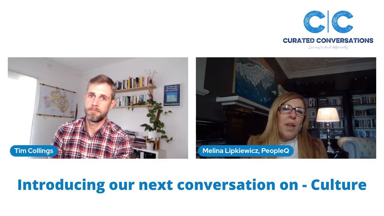 Curated Conversationalists talk CULTURE