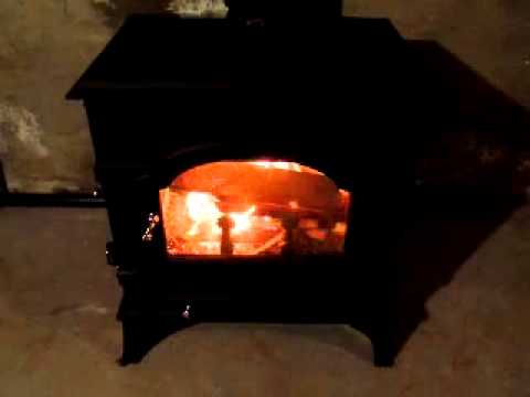 First fire in our Dutch West wood stove - First Fire In Our Dutch West Wood Stove - YouTube