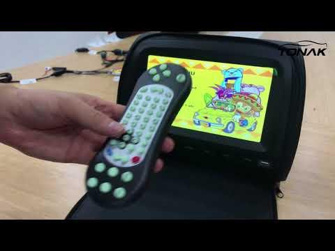 Game Function For Tonak Car Headrest Dvd Player