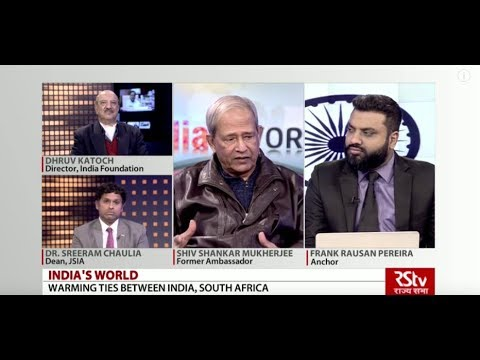 India's World - Warming Ties Between India, South Africa